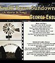 George Enslé, Small Town Sundown